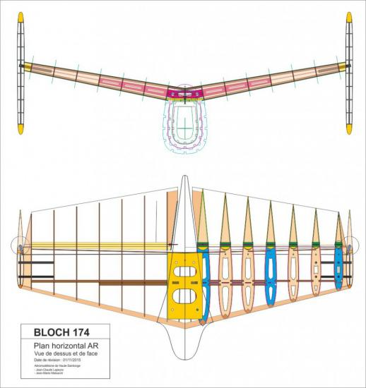Mb 174 plan empennage 966x1024